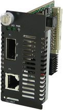 10GBase-T Managed Media Converter Module