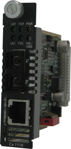 10/100/1000 Managed Media Converter Module | Models | Perle