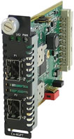 SFP to SFP Protocol Transparent Managed Media Converter Module