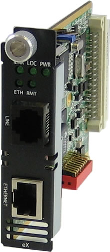 10/100/1000 Managed Ethernet Extender Module