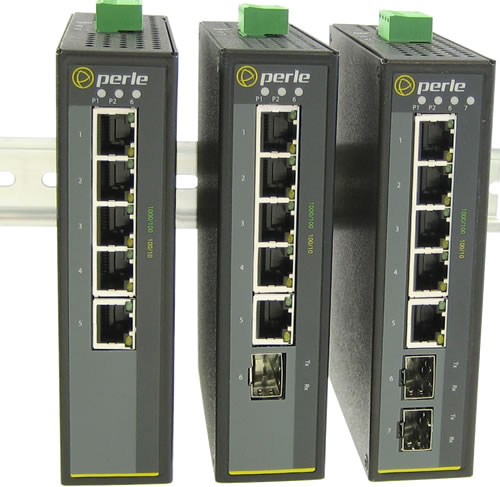 5 Port Industrial Gigabit Ethernet Switch Ids 105g Perle