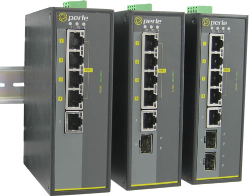 10 Port Industrial Ethernet Switch Ids108f Perle