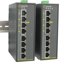 8 Port Industrial PoE Switch