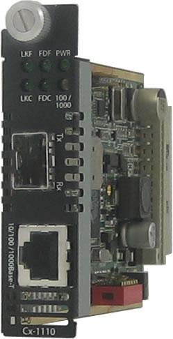10 100 1000 sfp managed media converter module perle10 100 1000 sfp media converter