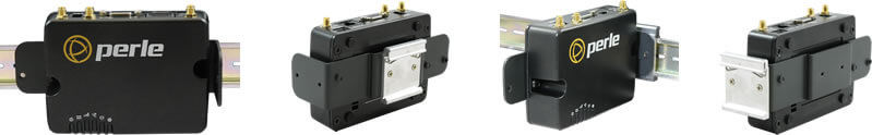 IRG5410 LTE Router with DIN Rail Mouting Bracket