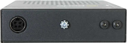 Back of Hi-PoE Media Converter